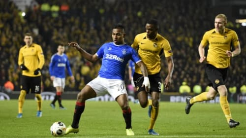 Steven Gerrard talks up Rangers striker Alfredo Morelos' character