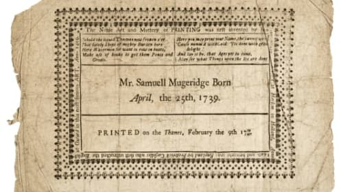 1740 River Thames frost fair mementoes up for auction