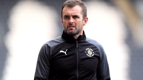 Nathan Jones says he got no respect from referee during Stamford Bridge defeat
