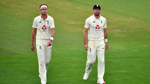 James Anderson replaces Stuart Broad as England shuffle seam attack in Sri Lanka