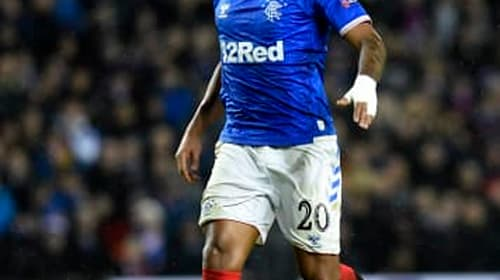 Alfredo Morelos sees red after netting in Rangers win