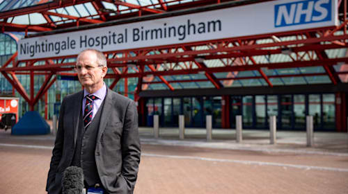 Hospitals chief 'nervous' people will flout Covid-19 lockdown over Easter