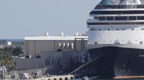 Coronavirus-hit cruise ship Zaandam docks in Florida
