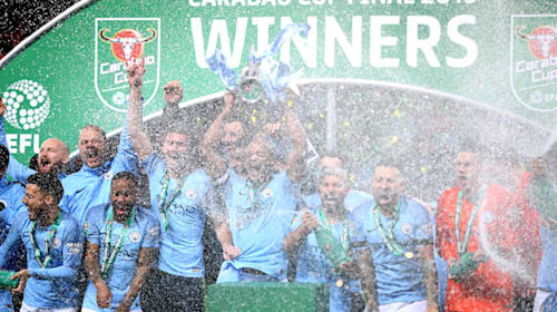 How Manchester City have fared in League Cup Finals