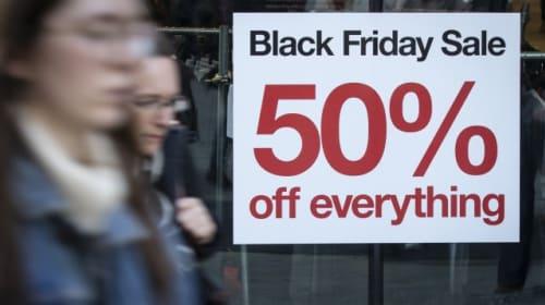 Lacklustre November for retailers as shoppers held spending until Black Friday