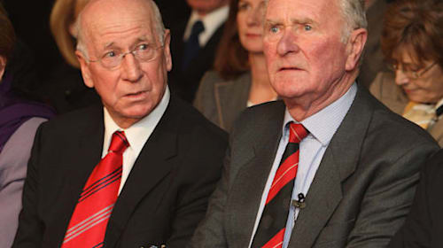 Harry Gregg will always be remembered as a heroic figure – Sir Bobby Charlton