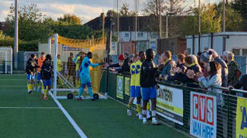 Haringey boss pulled 'frightened' players off pitch amid alleged racist abuse