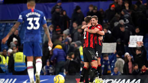 Gosling nets late winner as Bournemouth end losing streak with Chelsea scalp