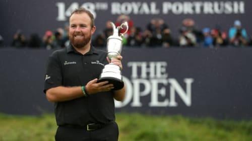 Open winner Shane Lowry enjoys celebrations at Dublin pub