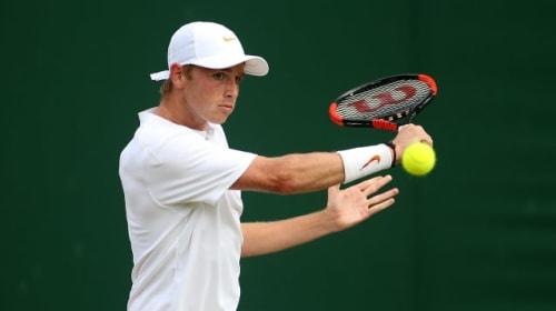 Aidan McHugh knows tennis shutdown will prove a physical and mental challenge