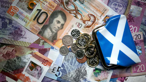 Scotland faces £200m budget cut as income tax generates £941m less than forecast
