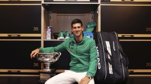 Djokovic closing in on Federer's records