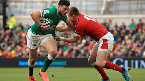 Robbie Henshaw hoping previous happy memories at Twickenham can spur Ireland on