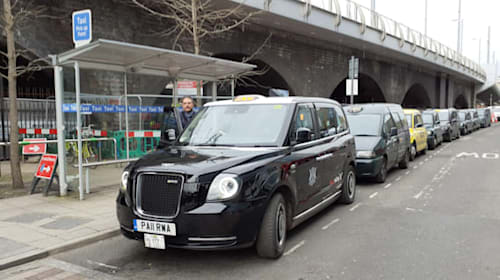 Wireless charging for electric taxis to be launched in UK first