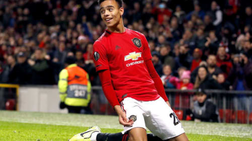 Solskjaer praises Greenwood's natural finishing after double against AZ Alkmaar