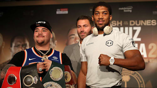 Beating Ruiz and regaining my belts would not be a special moment – Joshua