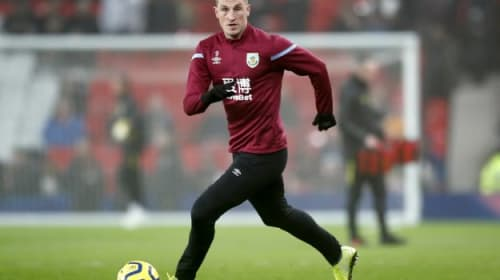 Chris Wood fitness doubt as Burnley take on Bournemouth