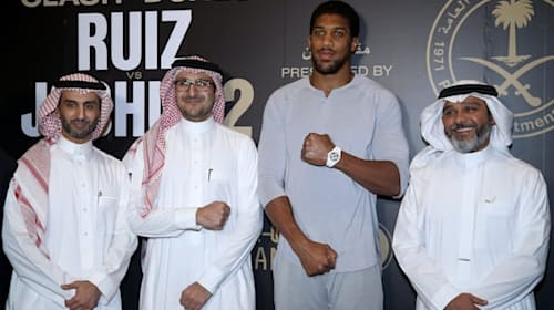 Historic Anthony Joshua fight puts the spotlight on Saudi Arabia
