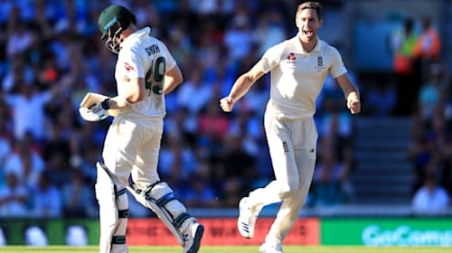 """Steve Smith debate has been """"blown up"""" says England all-rounder Chris Woakes"""