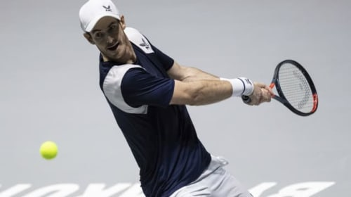 'Lucky' Andy Murray battles back to give Great Britain Davis Cup advantage