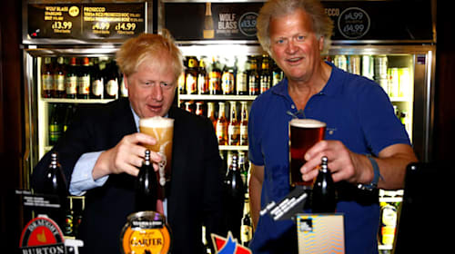 Wetherspoons boss £44m richer after election result
