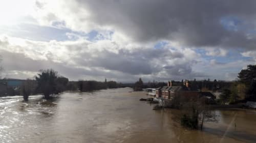 Flood warnings remain in place with more rain to come