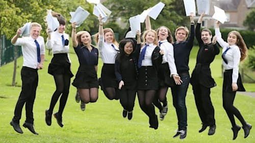 Record number of school leavers moving into work, study or training