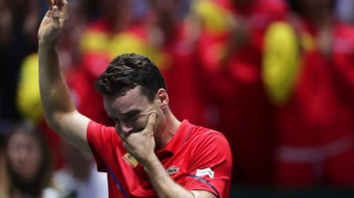 Spain take emotional victory in home Davis Cup