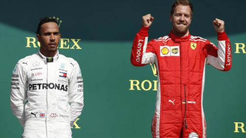 Hamilton hopes of landing Ferrari seat fade as Vettel gets team's backing