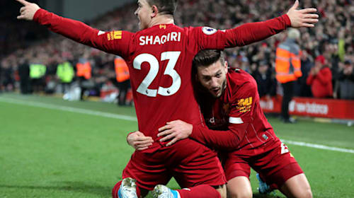 Xherdan Shaqiri hoping for more first-team action after Merseyside derby goal