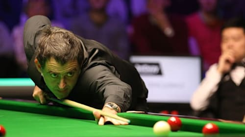 No handshakes for O'Sullivan over germ concern before crushing Cahill in Glasgow