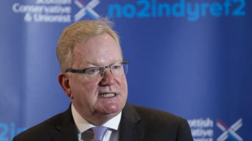 Vote Tory to put indyref2 in 'cold storage', says Jackson Carlaw