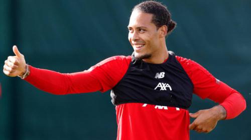Liverpool are showing no signs of nerves, says Virgil Van Dijk