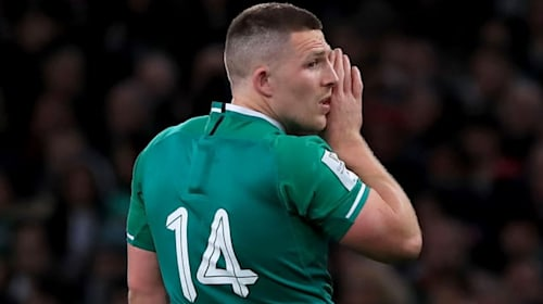 Conway says Ireland squad will have 'frank discussions' after England loss