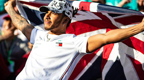 Lewis Hamilton on track to finish season on a high