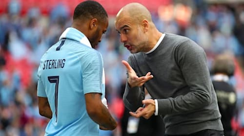 Pep Guardiola not concerned by rumours linking Raheem Sterling with Real Madrid