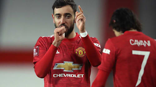 Bruno Fernandes goal takes Manchester United through at Liverpool's expense
