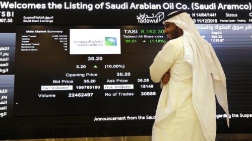 Saudi Aramco reaches landmark 2 trillion US dollars in second day of trading