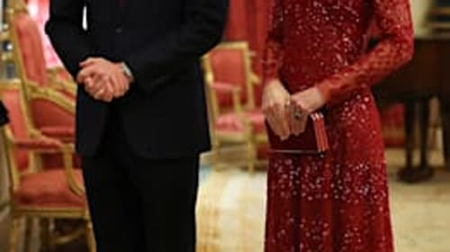 William and Kate host glittering palace reception for African leaders