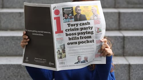 Competition watchdog looks at Daily Mail owner's takeover of the i newspaper