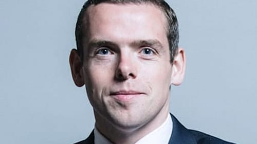 Douglas Ross rubbishes claim that ventilator orders down to Tory Party support