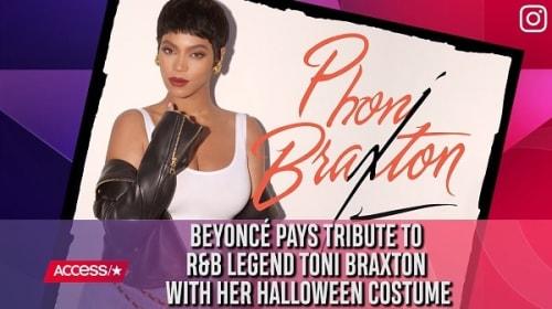 ビヨンセが今年のハロウィンコスチュームを披露!先輩歌姫トニー・ブラクストンに変身