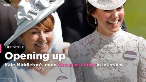 英キャサリン妃の母キャロル・ミドルトン初インタビュー、家族について口を開く
