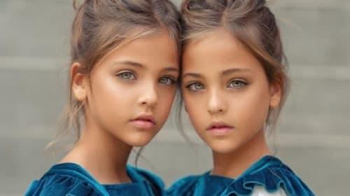 「世界で最も美しい双子」が話題に