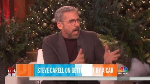 スティーヴ・カレルが車にはねられた際に起きた面白エピソードを告白