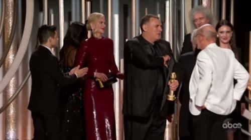 『ボヘミアン・ラプソディ』ラミ・マレック、GG賞でニコール・キッドマンに無視された件をトーク番組で早速ネタにされる