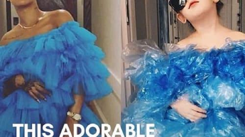 セレブのファッションを再現する親子インスタグラマーが話題に【映像】