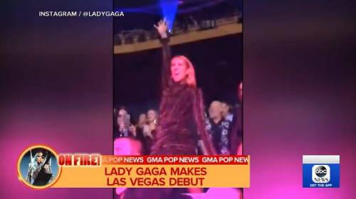 セリーヌ・ディオン、レディー・ガガのラスベガス公演を超ノリノリで満喫!