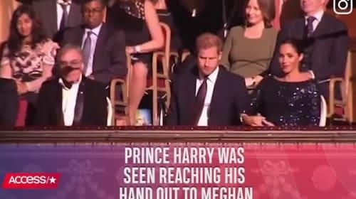 英ヘンリー王子、メーガン妃との仲睦まじい姿を目撃され話題に