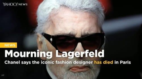 著名デザイナー、カール・ラガーフェルドの訃報に追悼コメント続々